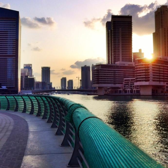 Dubai Marina in High Dynamic Range (HDR)