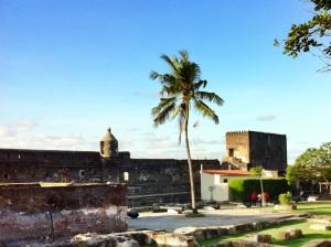 Binnenplaats van Fort Jesus