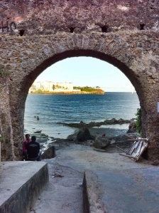 Zeepoort van het fort